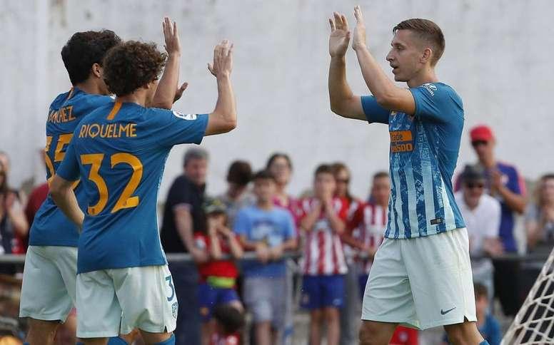 Una vez más, Saponjic se quedó fuera de la lista del Atlético. AtletiAcademia