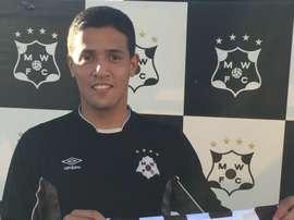 Rodrigo Viega, nuevo jugador de Montevideo Wanderers. MWFCOficial