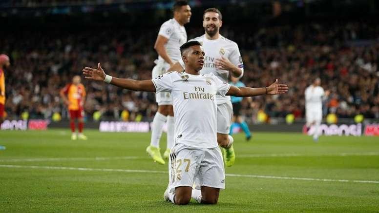 Uma atuação galática do Real Madrid na Champions. EFE