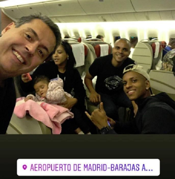Rodrygo, en Madrid. Instagram/RodrygoGoes