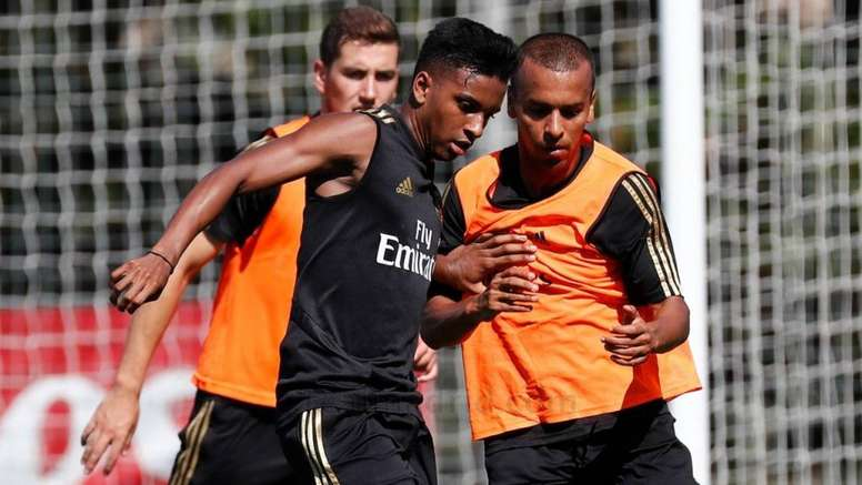Rodrygo will probably not play against Atletico on Saturday. RealMadrid