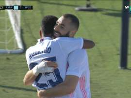 Benzema made it 4-1. Screenshot/MovistarLaLiga