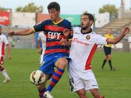 El defensa reforzará la zaga del Olot en Tercera División. UEO1921