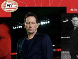Le PSV souhaite la bienvenue à Roger Schmidt. Twitter/PSV