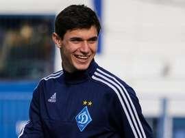 Roman Yaremchuk está cedido en el Oleksandria, ya que pertenece al Dinamo de Kiev. FCDynamoKiev