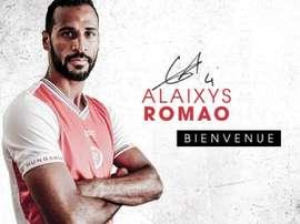 Romao a signé à Reims. Goal / @InstantFoot