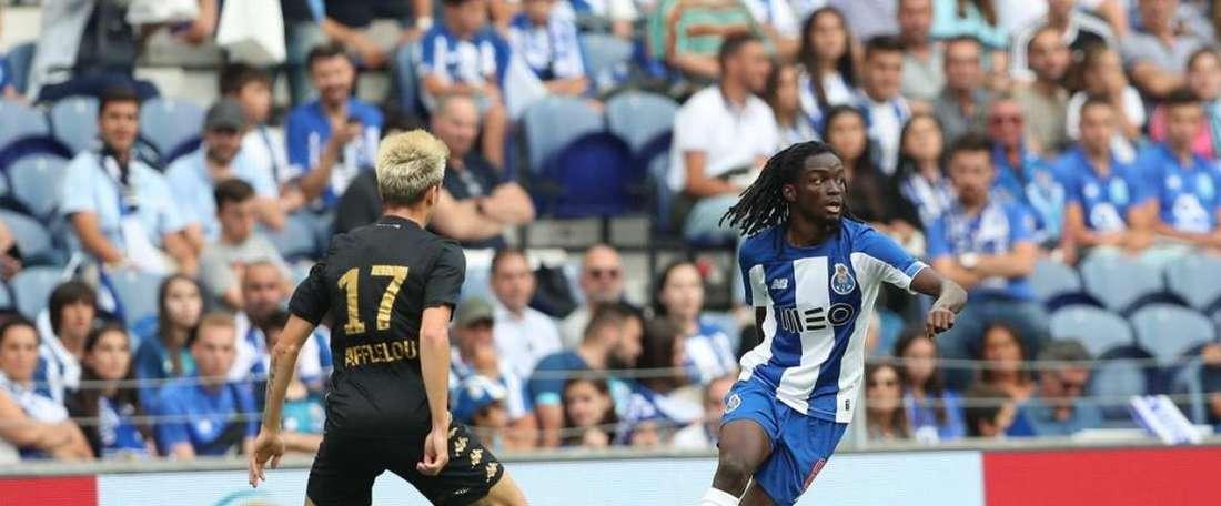Romario Baro pourrait vivre une nouvelle expérience en Liga. Twitter/FCPorto