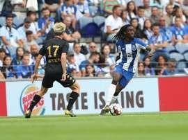 Romario Baró é um dos novos desfalques do Porto. Twitter@FCPorto