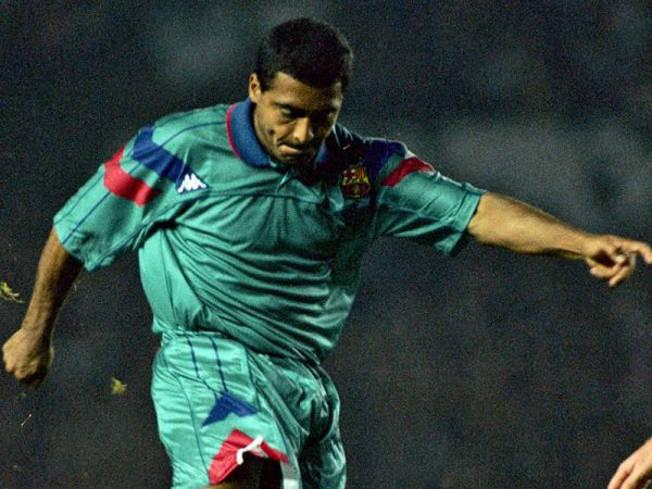 Romario insisted that he was the best striker. Archivo