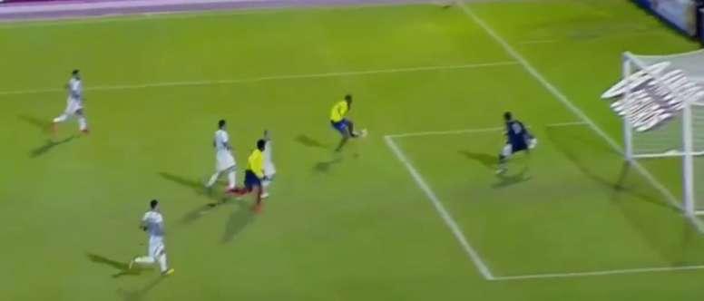 Romario Ibarra puso por delante a Ecuador. Twitter