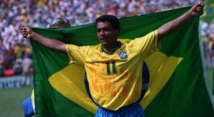 Romário ficou famoso pelo futebol e pelas frases polêmicas. Twitter @ManCityBrazil