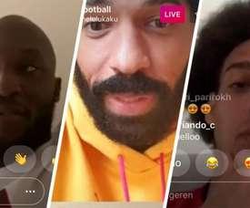 A dura crítica de Lukaku sobre o futebol e o coronavírus. Instagram/romelulukaku