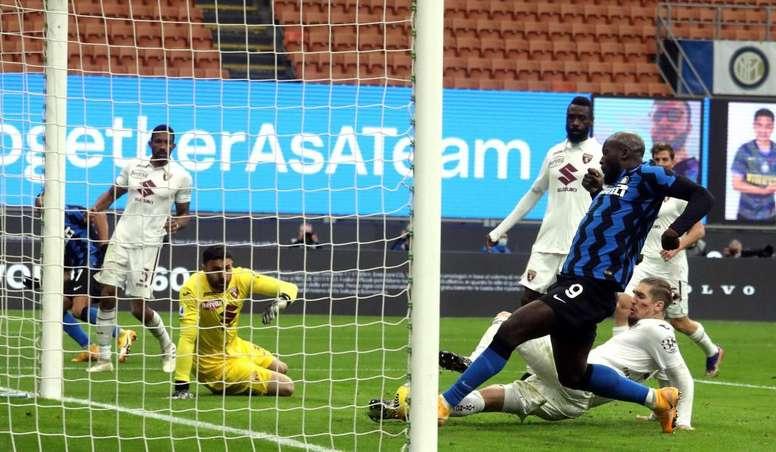 L'Inter travolge il Toro. EFE
