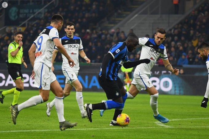 L'Atalanta pareggia al Meazza. Twitter/InterFC