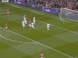 Lukaku já marcou 100 golos na Premier. Screenshot