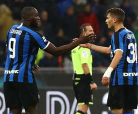 Lukaku se erige en líder del líder. Inter