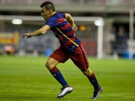 Romera, jugador del Barça B. Twitter