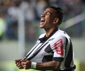 O atacante Otero foi relacionado para a partida. Twitter/Atlético Mineiro