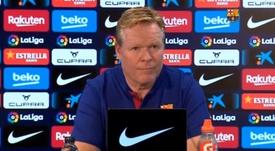 Ronald Koeman analizó el Alavés-Barcelona. Captura/BarçaTV