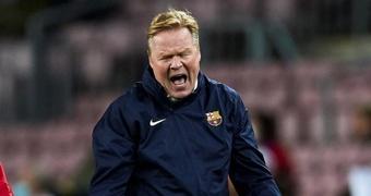 Koeman no atraviesa su mejor momento en el Barcelona. EFE