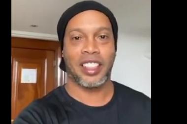 Ronaldinho positivo al coronavirus. Ronaldinho