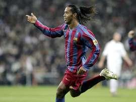 Ronaldinho in his Barcelona days. Miguel Ruiz/FCBarcelona