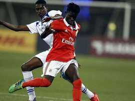 Ronaldo Camara has been a sensation in the Portuguese capital. BENFICASL