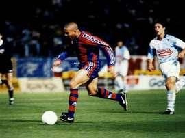 Le but de Ronaldo fête son 22ème anniversaire. EFE