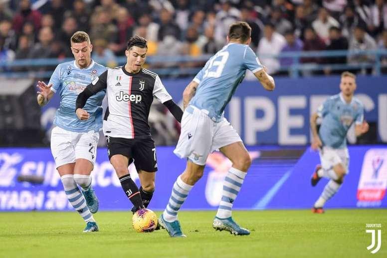 la Lazio renverse de nouveau la Juventus. afp