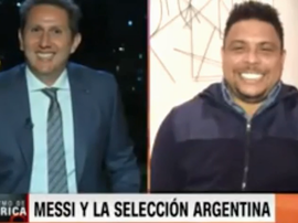 Ronaldo was interviewed by 'CNN'. Captura/CNN