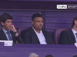 Ronaldo did not miss his first game in charge. Captura/beINSports
