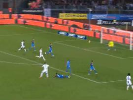 Ronaldo scored a superb goal against Empoli. Captura/Gol