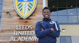 Ronaldo Vieira, una de las promesas de Ellan Road. LeedsUnited