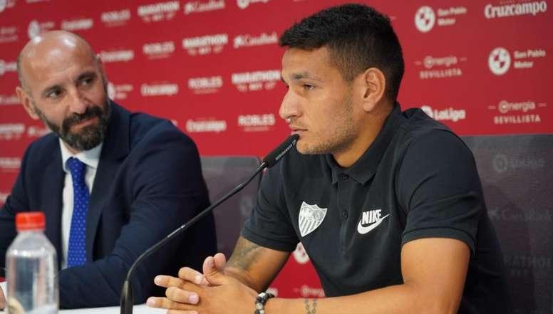 Rony Lopes quiere dar más alegrías. SevillaFC