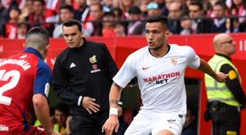 Rony Lopes analizó el partido en su regreso como titular. SevillaFC