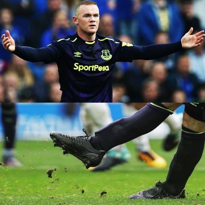 Rooney utilise les Total 90. Facebook