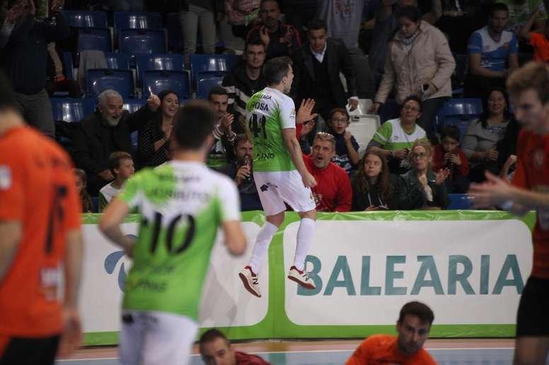 Palma Futsal goleó a Industrias Santa Coloma. PalmaFutsal