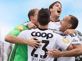 Rosenborg prepare for the return of the Norweigian domestic season. Twitter