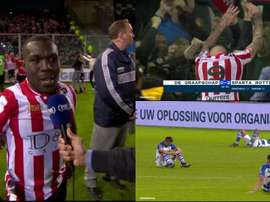 Drenthe's Sparta Rotterdam pulled up a great comeback to get promotion. Captura/FOX