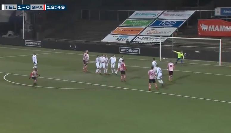 Otro golazo de Drenthe para volver a disfrutar del fútbol. Captura