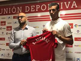 Rubén Alcaraz no dudó a la hora de elegir al Almería. UDAlmería