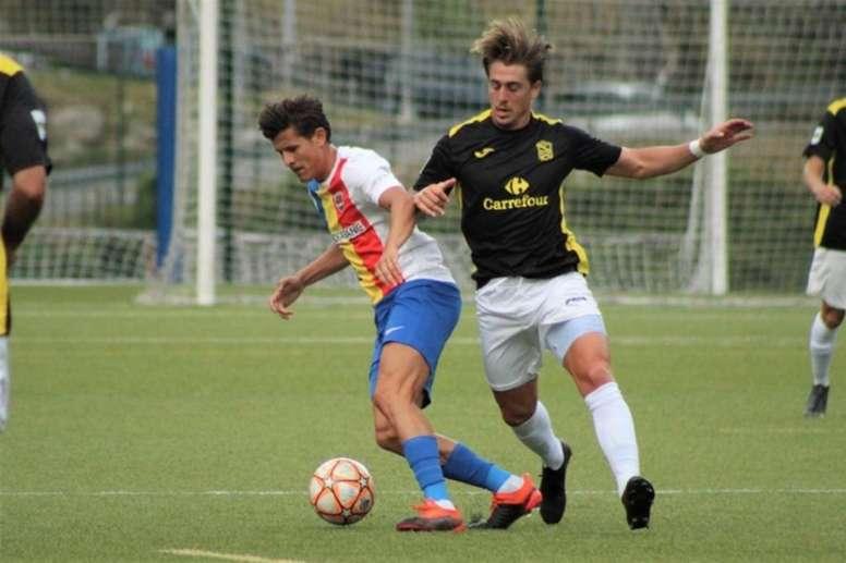 Piqué vio al Andorra en directo. FCAndorra