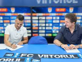 Viitorul have a new manager. Twitter/ViitorulFC