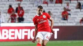Rúben tem-se vindo a afirmar, e de que maneira, no Benfica. Twitter/slbenfica