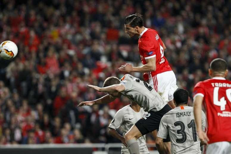 Prováveis escalações de Benfica e Tondela. Twitter/SLBenfica