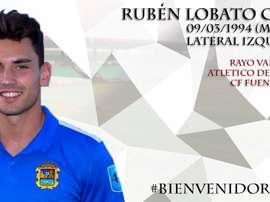Rubén Lobato ha sido presentado como nuevo jugador del Mérida. MéridaAD