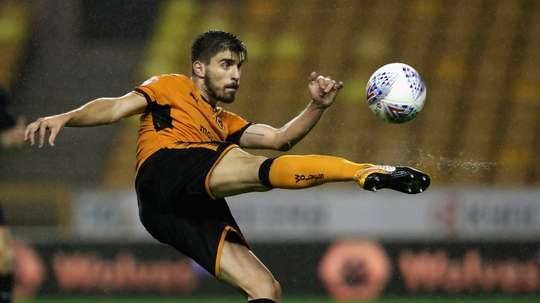 Neves played an important role in Wolves' promotion to the Premier League. AFP
