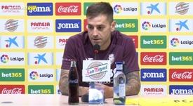 Rubén Peña está ilusionado con su nueva aventura. VillarrealCF