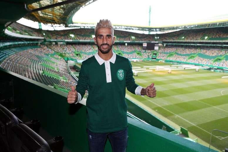 Rúben Ribeiro é reforço de inverno do Sporting CP. Twitter/SCP