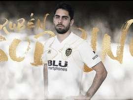 Sobrino est le nouvel attaquant de Valence. ValenceCF